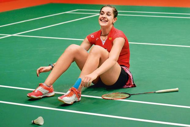 BWF Super-series women Carolina Marin