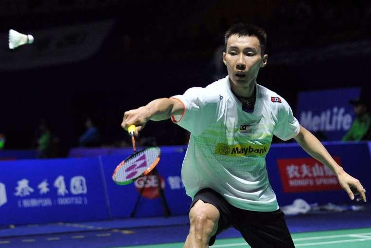 China Open badminton Lee Chong Wei