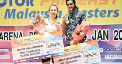 Champions at 2016 Malaysia Masters