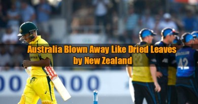 Australia vs New Zealand ODI