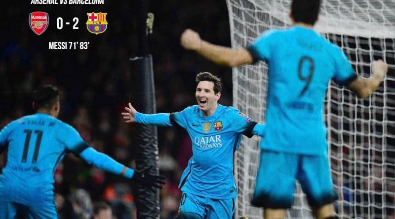 Barcelona bag two away goals
