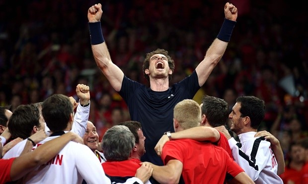 Great Britain Wins Davis Cup