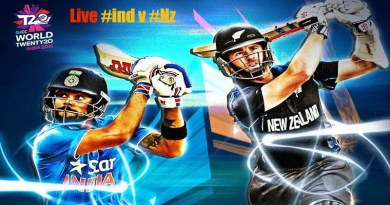 ICC World T20 2016: India vs New Zealand Live