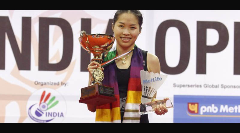 Momota Wins Men's Title Intanon Takes Women's at Delhi's 2016 Yonex-Sunrise India Open
