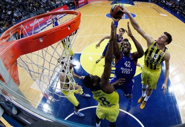Euro-League Basketball 5 Teams 2015