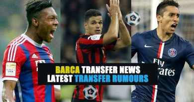 Barca transfer news