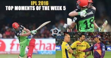 IPL 2016 Top Moments