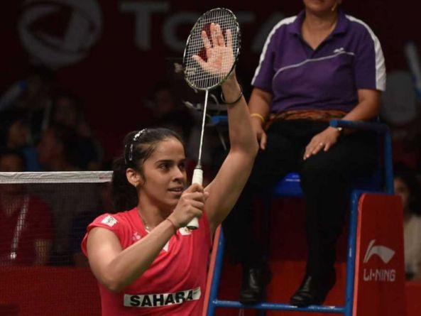 Saina in thomas cup