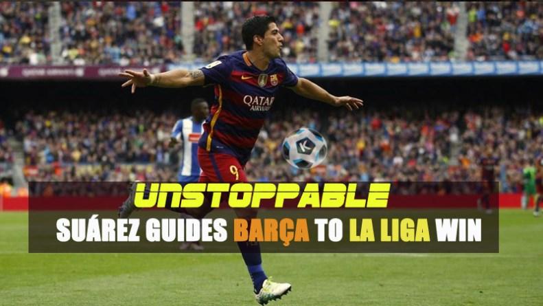 Unstoppable Suárez