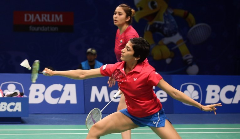 Jwala ^ Ashwini at Indonesia Open
