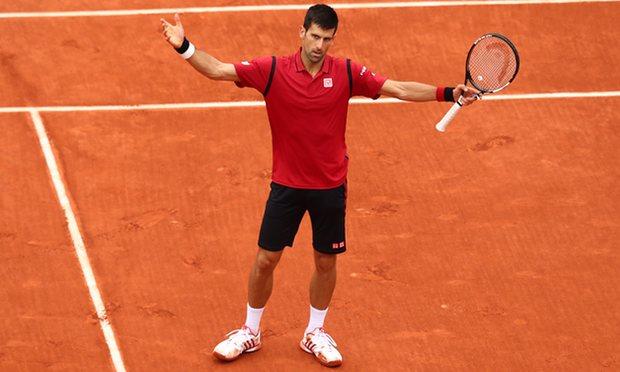 Novak Winning the French Open 2016