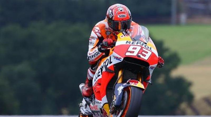 Magical Marc Marquez winer