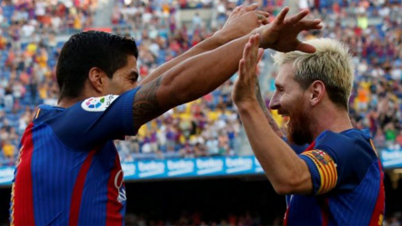 Barca send out a warning for their rivals from Day 1