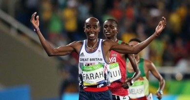 Masterful Mo Farah Wins 3rd Olympic Gold