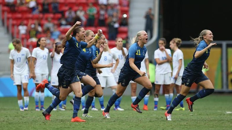 Sweden into SF with Shocking Win Over USA