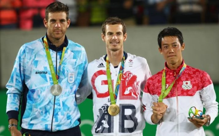 Tennis Olympic Gold mens
