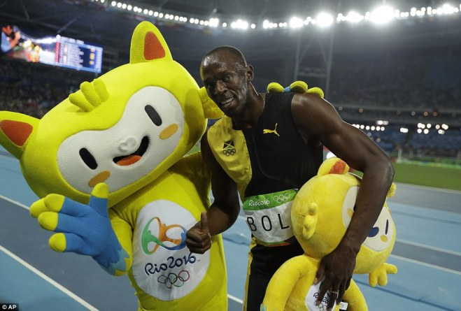 Bolt Beats Gatlin
