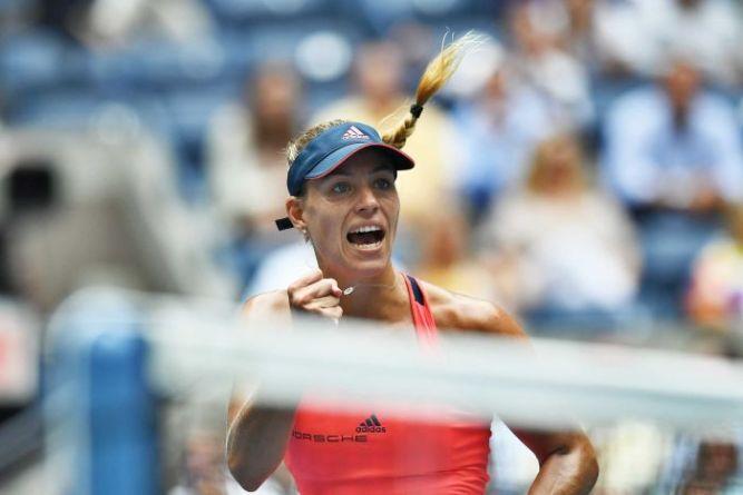 Angelique Kerber defeated last