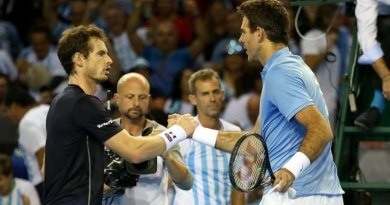 Juan Martin Del Potro, Andy Murray