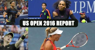 Progress report US open 2016