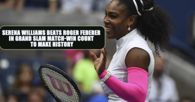 Serena Williams Beats Roger Federer in Grand Slam Match-Win Count to Make History