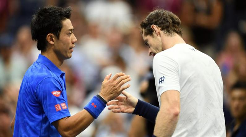 Murray Knocked Out of US Open by Nishikori
