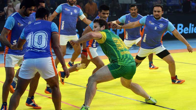2016 Kabaddi World Cup: India roar back to beat Australia