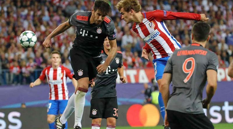 Atletico Madrid defeat Bavarians in an exciting game