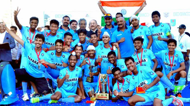 Goal Seals Boys U-18 Asia Cup Hockey Victory for India