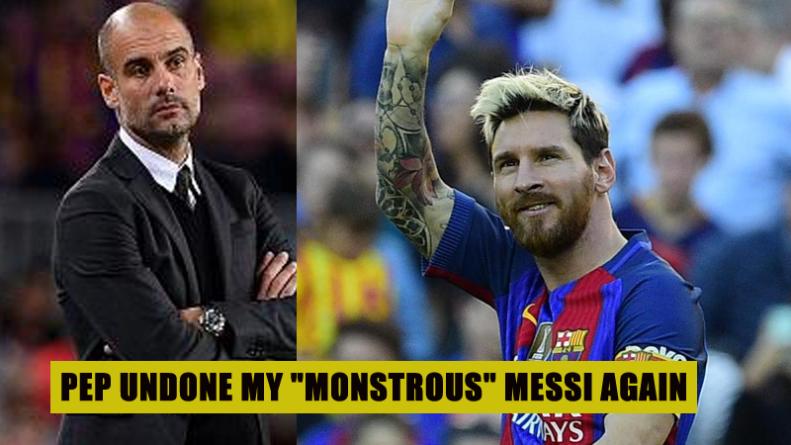 Pep undone Messi again