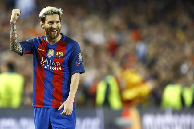 Messi again