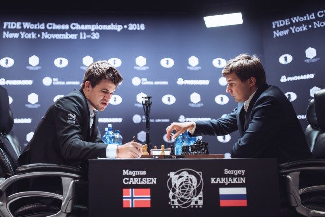 Carlsen Bounces Back with Victory