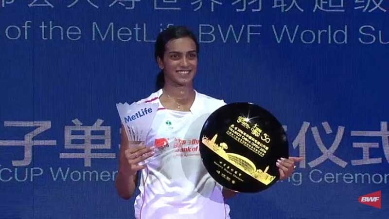Sindhu Sizzles and Secures 2016 China Open Amid A Huge Chinese Denial on Sunday