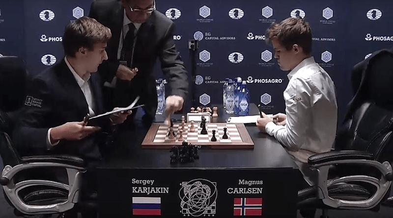 World Chess Championship Battle