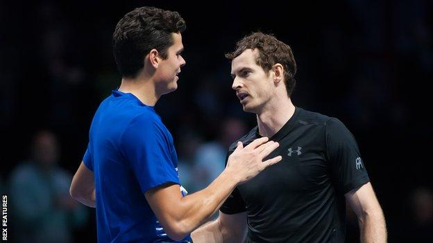 End No.1 in Barclays ATP World Tour Finals