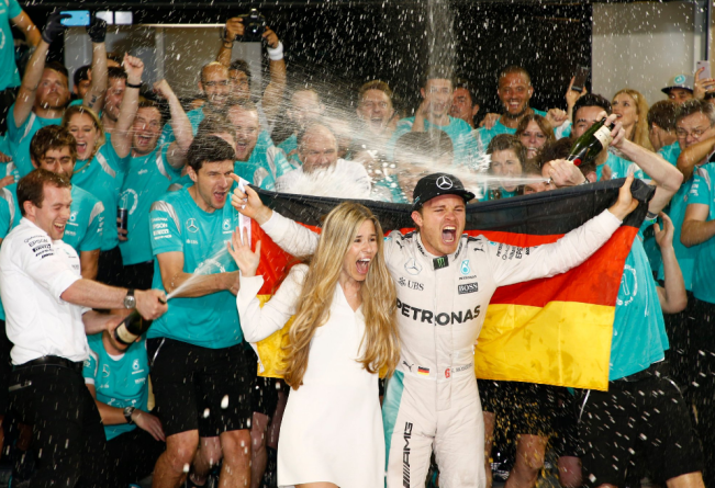 First Ever F-1 Title for Nico Rosberg Despite Hamilton Winning the Abu Dhabi GP