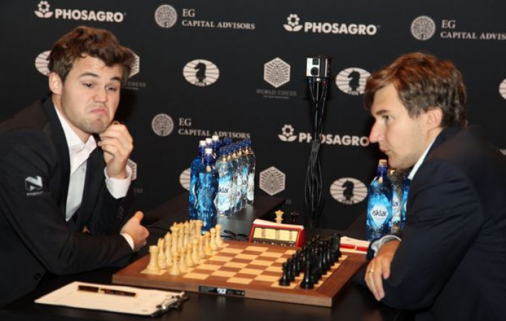 2016 World Chess Championship: After the Drawn 12th Game It All Hinges on Tiebreakers