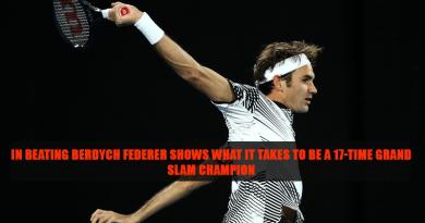 Roger Federer victories 2017