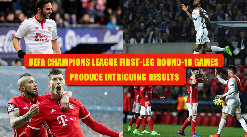 UEFA Champions League First-Leg Round-16 Games Produce Intriguing Results