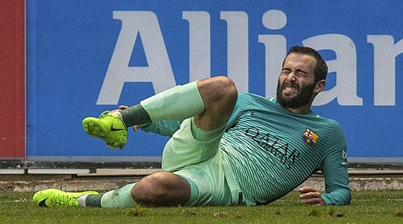 Vidal injury mars Barca