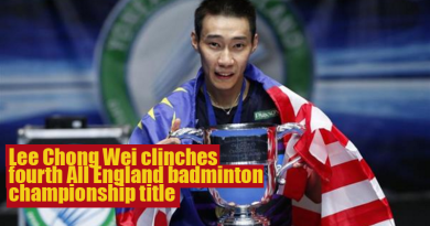 All England badminton championship title