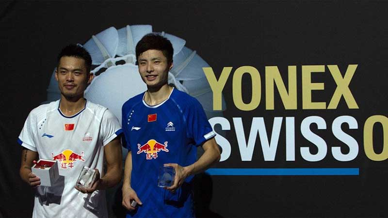 Swiss Open title:China wins four titles with Lin Dan easily beat Shi Yuqi