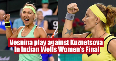 Vesnina play against Kuznetsova In Indian Wells Women's Final