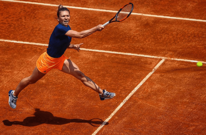 Simona in Italian open