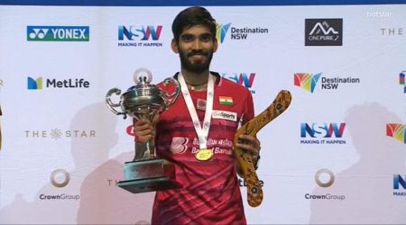 Srikanth Kidambi wins second consecutive Super Series title