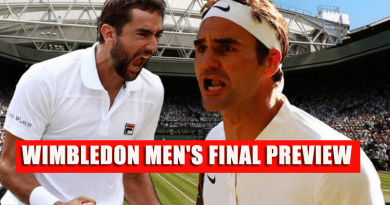 WIMBLEDON MEN'S FINAL PREVIEW