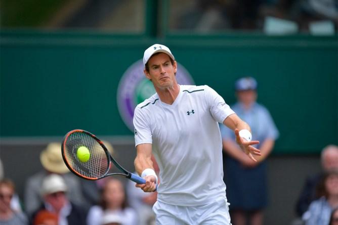 Andy Murray  Wimbledon Day 1