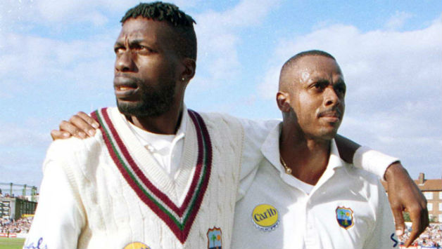 Curtly Ambrose and Courtney Walsh