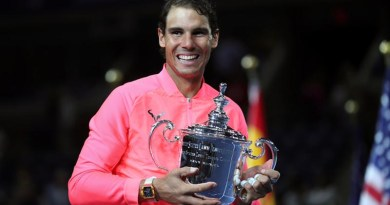Rafael Nadal Beats Kevin Anderson for Third Us Open Title