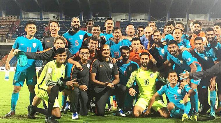 Indian Football Team qualifies for the AFC Asian Cup 2019